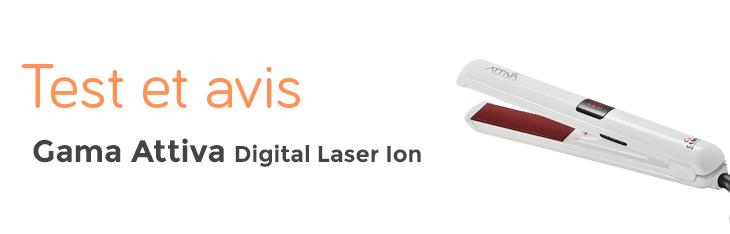 test et avis gama attiva digital Laser ion