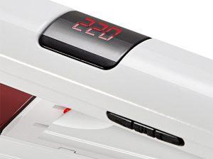 thermostat digital et touches gama attiva digital laser ion