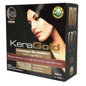 kit lissage brésilien Keragold Pro