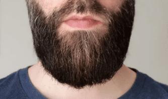 Barbe structurée