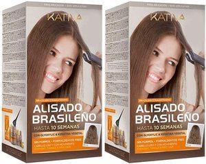Kit de lissage Kativa brésilien à la kératine et à l'huile d'argan